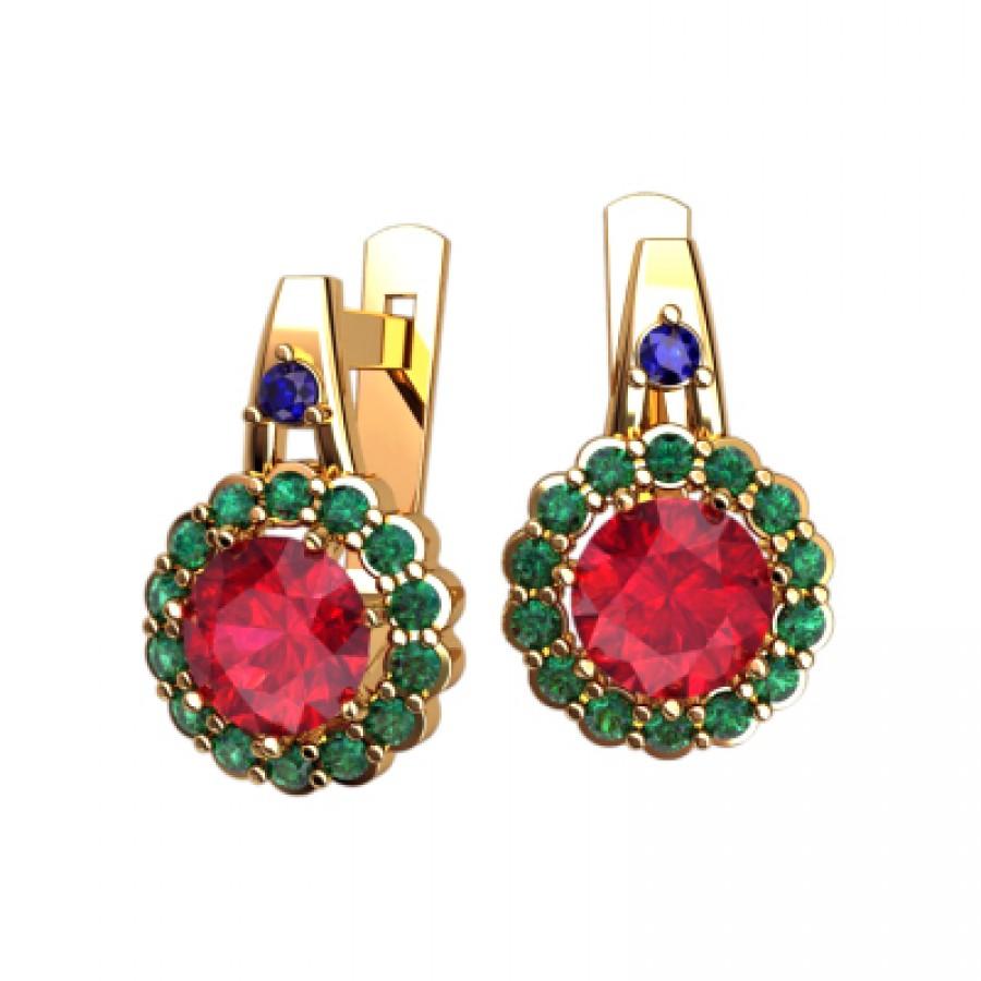 Earrings 40587