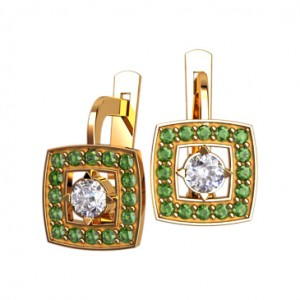 Earrings 40639