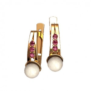 Earrings 40756