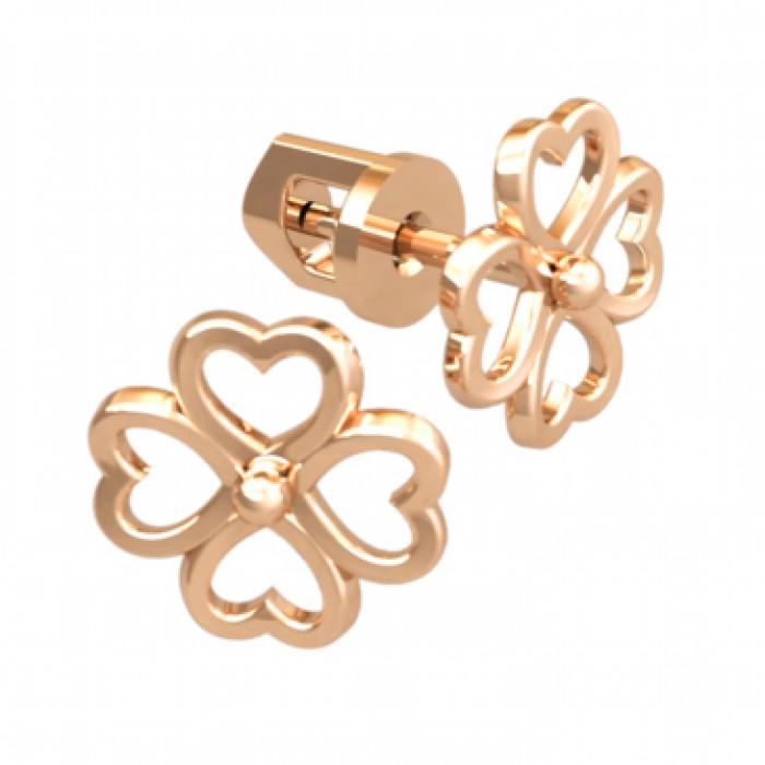 Stud earrings 40952