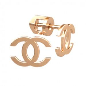Stud earrings 40969