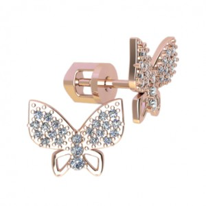 Stud earrings 40976