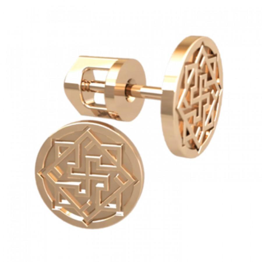 Stud earrings 40978