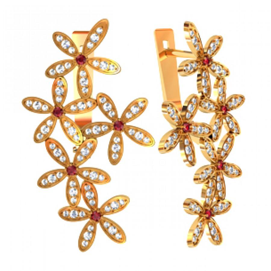 Earrings 110655