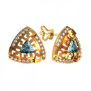 Stud earrings 111285