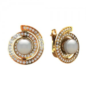 Earrings sc430