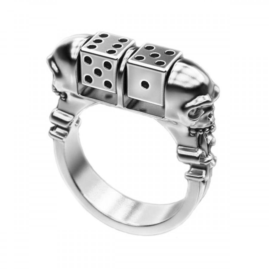 """Ring  """"Skull Dice"""""""