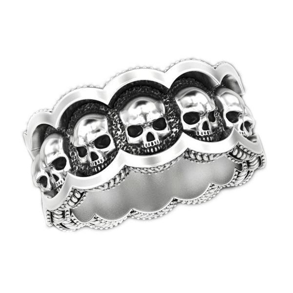 "Ring  ""Skulls"""