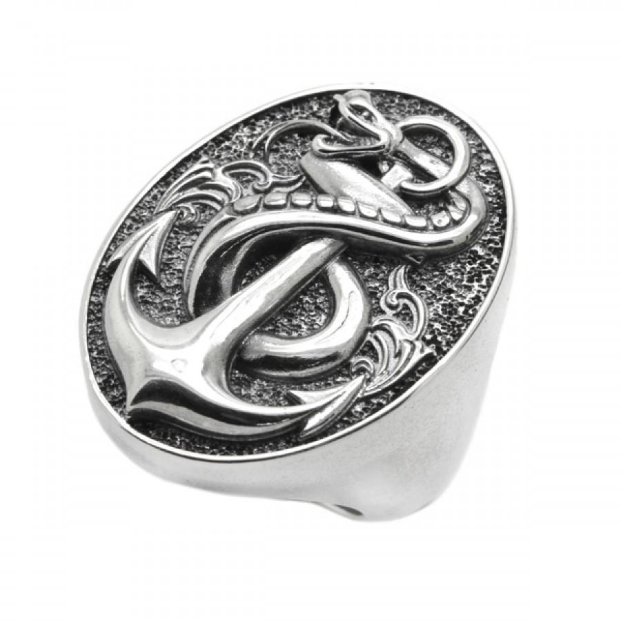 "Ring ""Snake Anchor"""