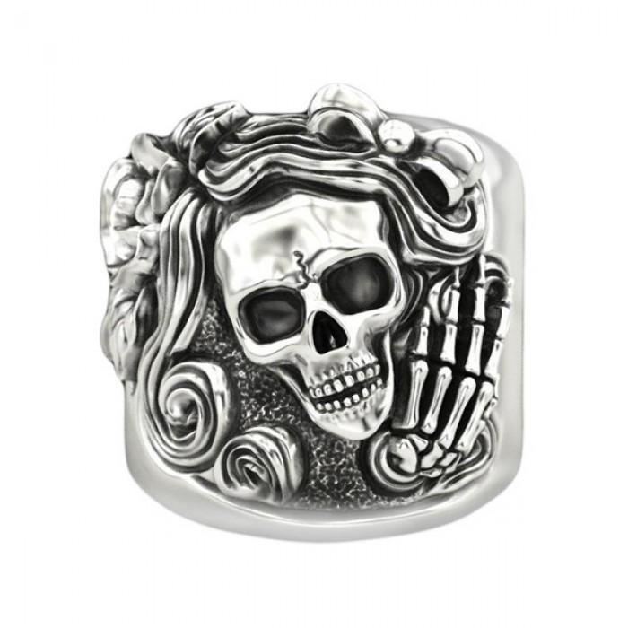 "Ring ""Skull Womens Signet"""