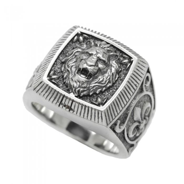 """Ring """"Lion Fleur De Lys"""""""