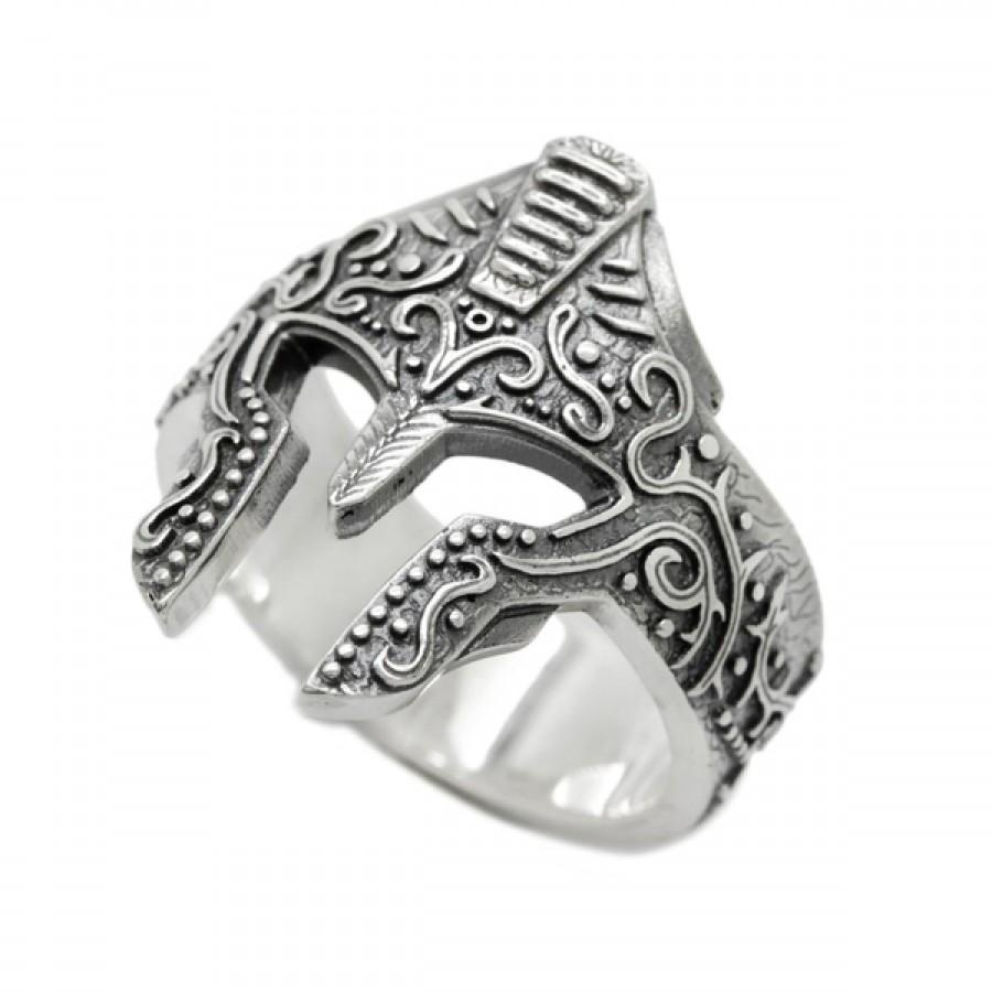 """Ring """"Spartan Knight Helmet"""""""