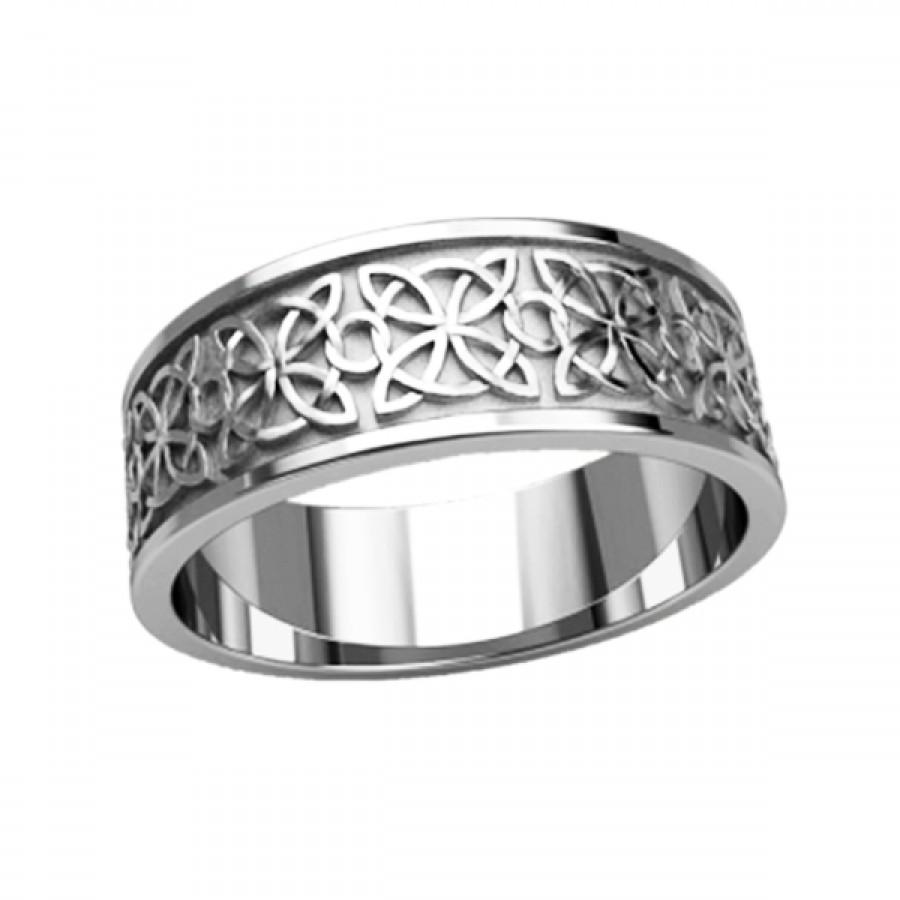 "Ring ""Celtic Quaternary Knot"""