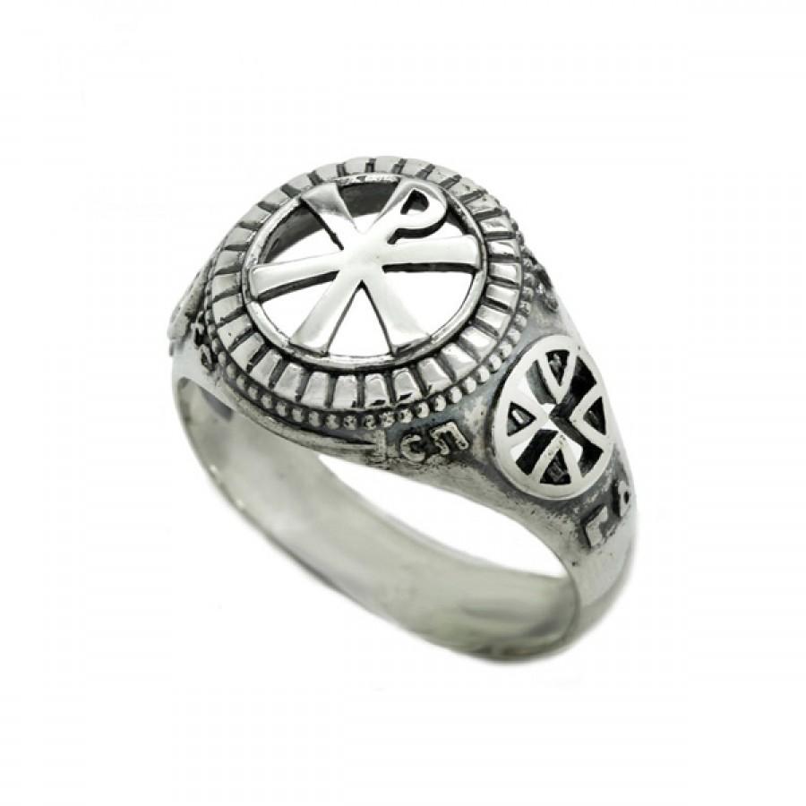 """Ring  """"Chi Rho"""""""