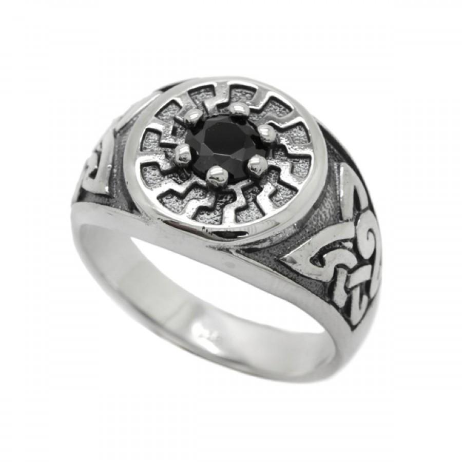 "Ring ""Black Sun"""