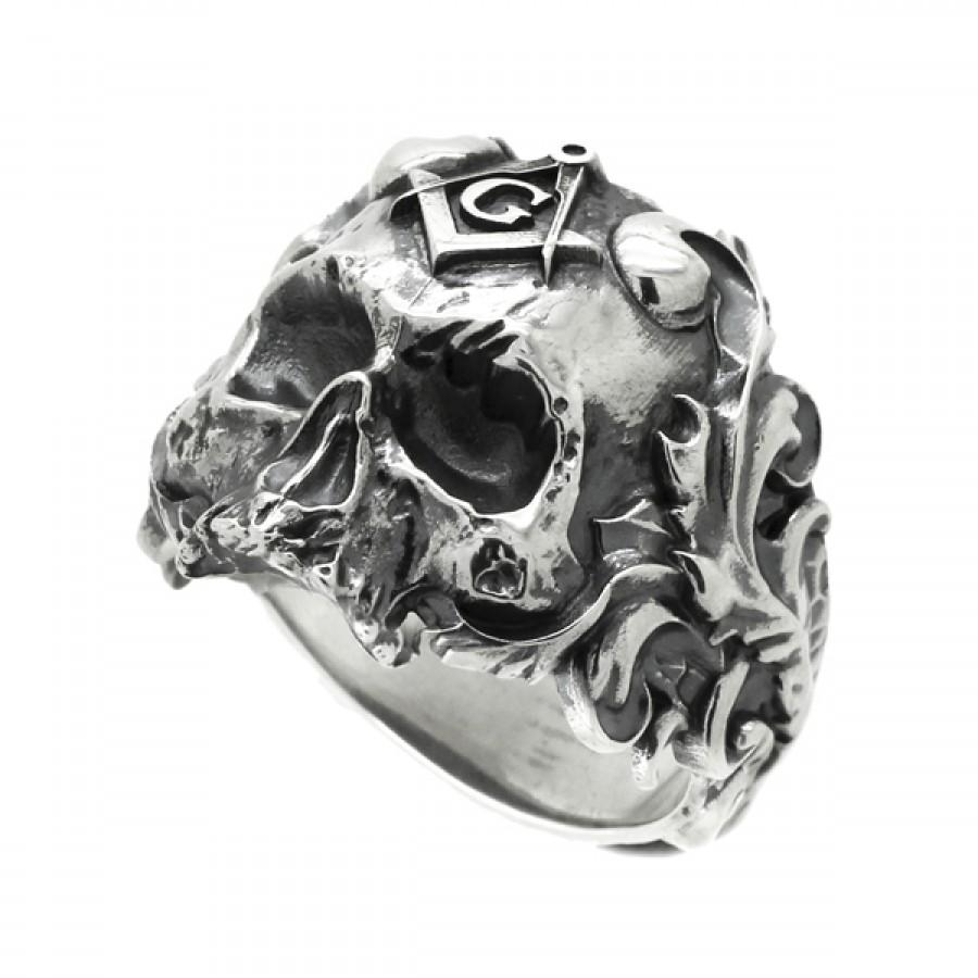 """Ring """"Masonic Skull"""""""