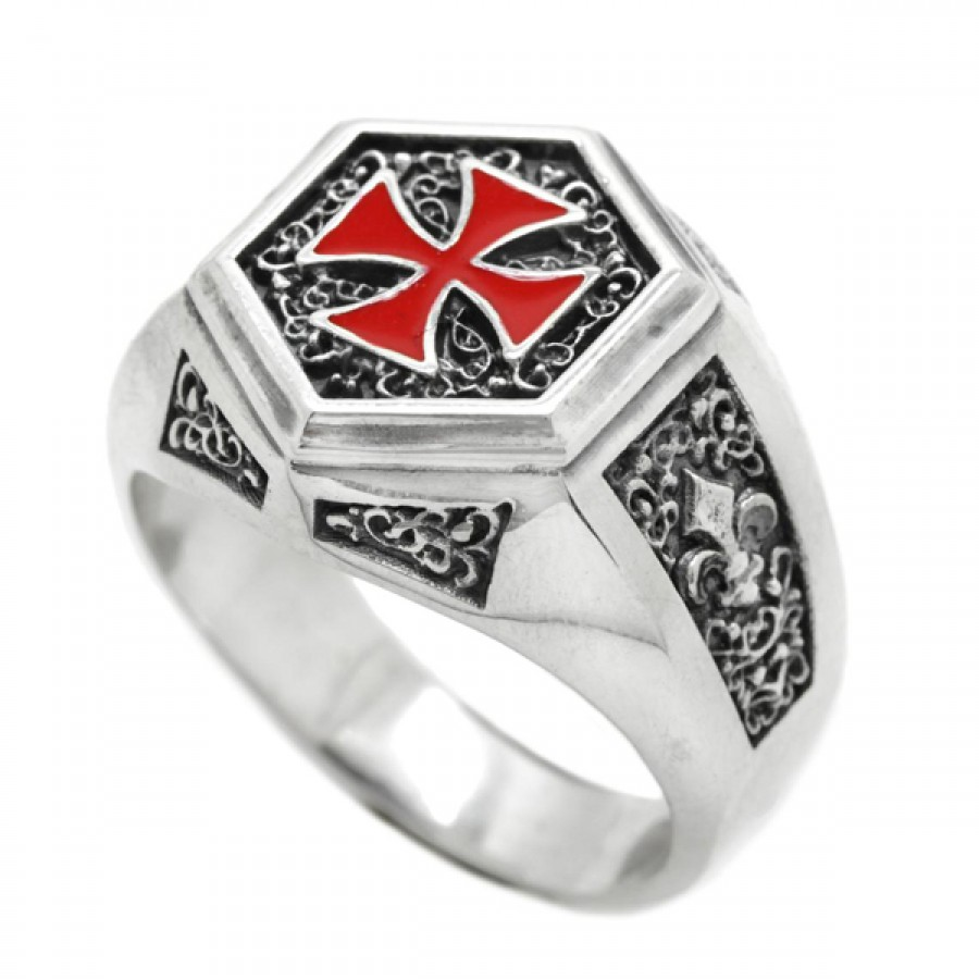 """Ring """"Order of the Temple of Solomon"""""""