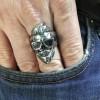"Ring ""Stylish Trendy Skull"""
