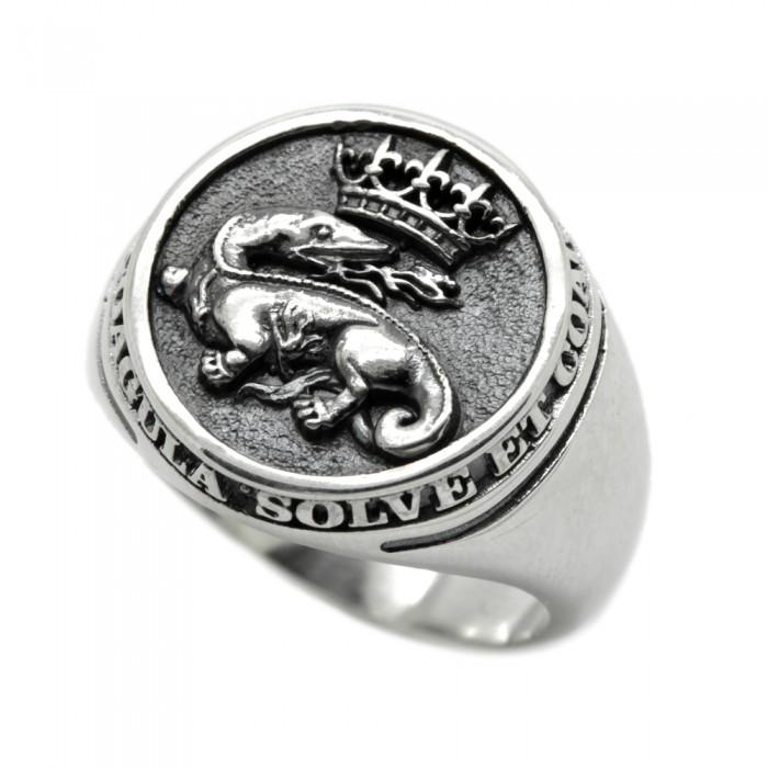 "Ring ""Salamander Breath"""