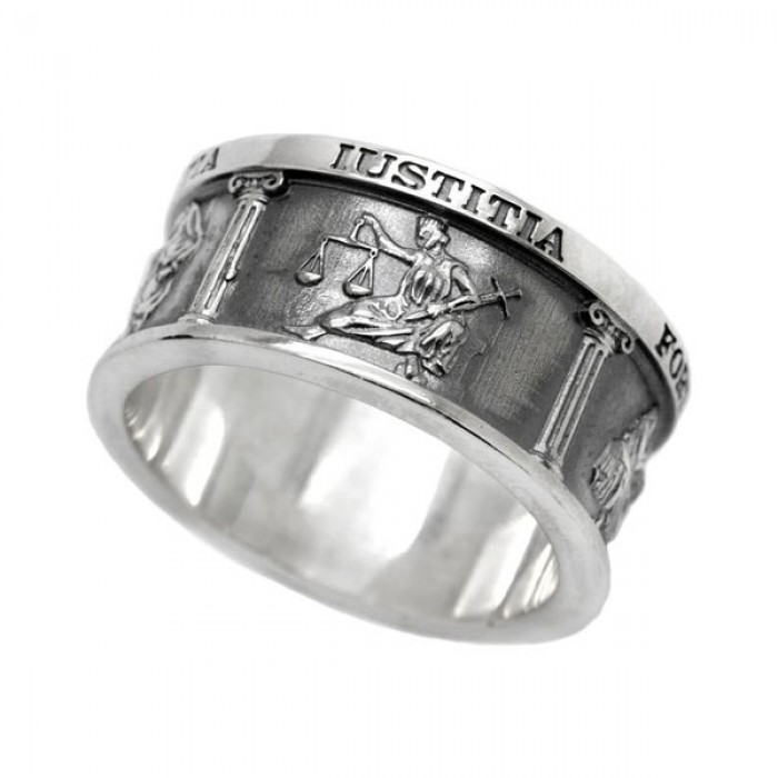 "Ring ""Four Cardinal Virtues"""