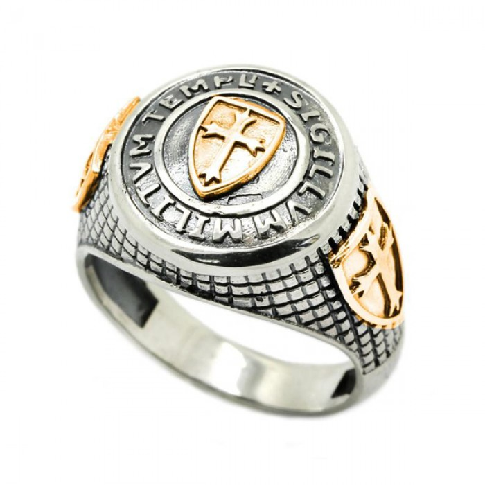 """Ring """"The seal of the soldiers of the temple"""""""