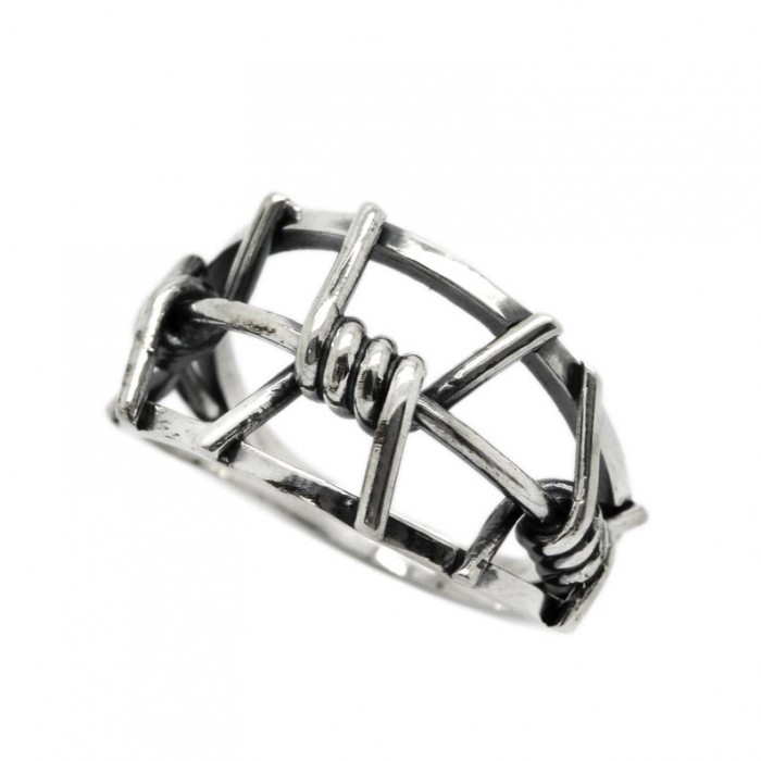 """Ring """"Barbed wire"""""""