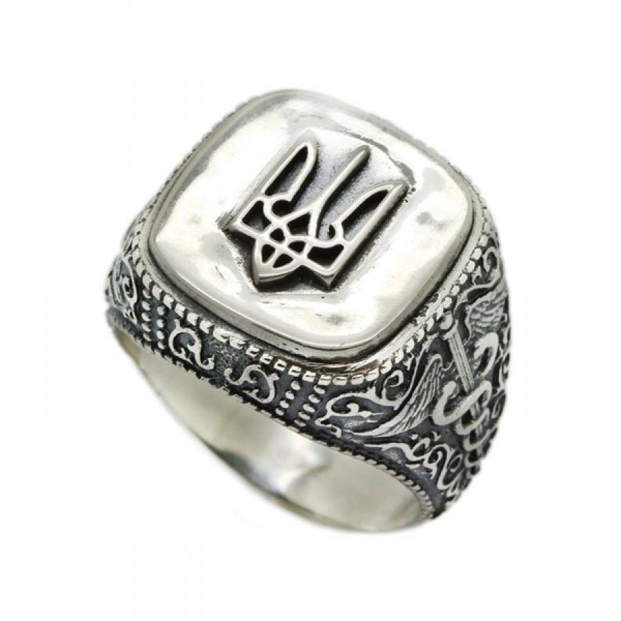 "Ring ""Ukrainian Trident"""
