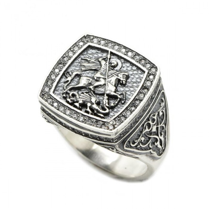 """Ring """"St. George the Victorious"""""""