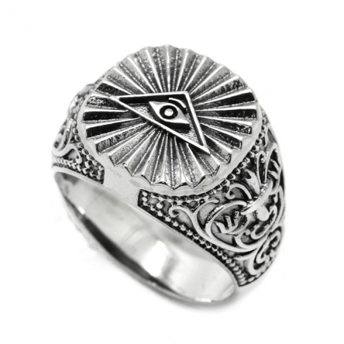 """Ring """"All-seeing eye"""""""