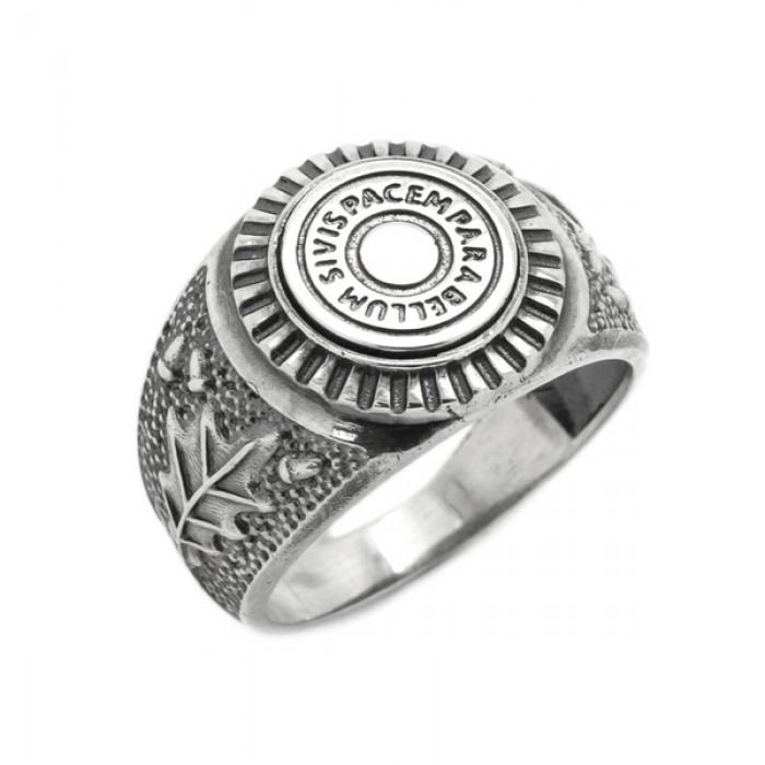 "Ring ""Si vis pacem, para bellum"""