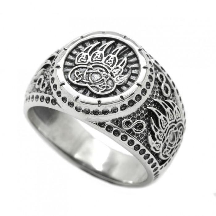 "Ring ""Protect Veles Bear's paw"""