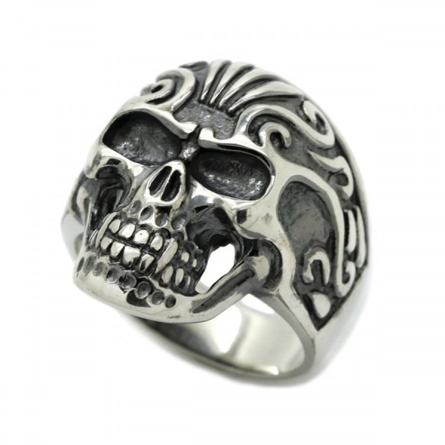 """Ring  """"Maya Skull"""""""