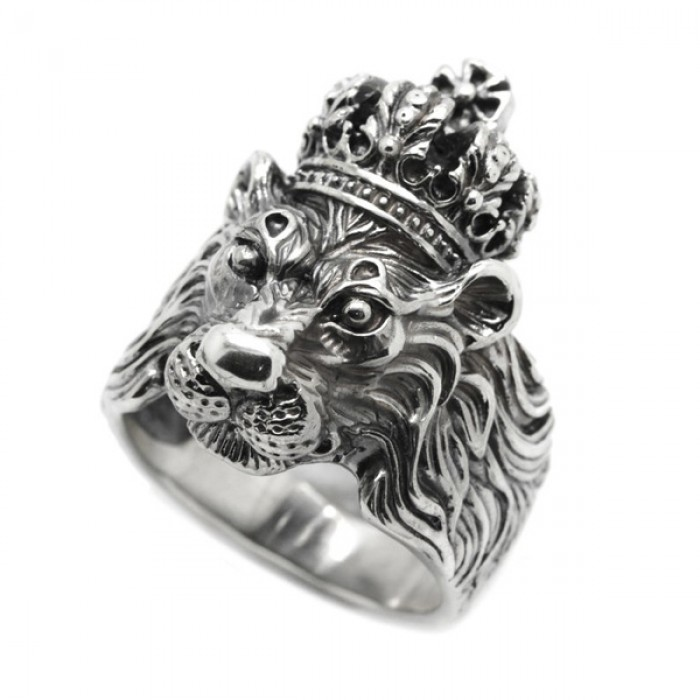 """Ring """"Lion in Crown"""""""