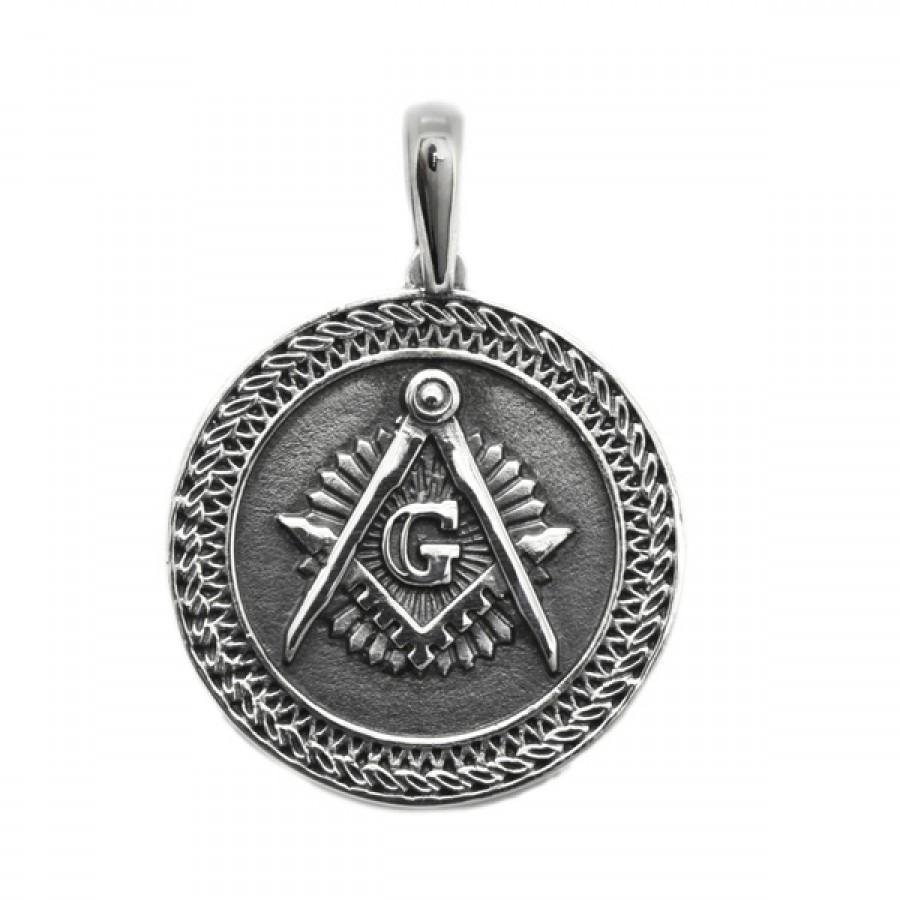"Pendant ""Masonic Great G """
