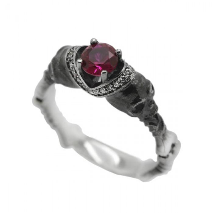 "Ring ""Gothic Skulls"""