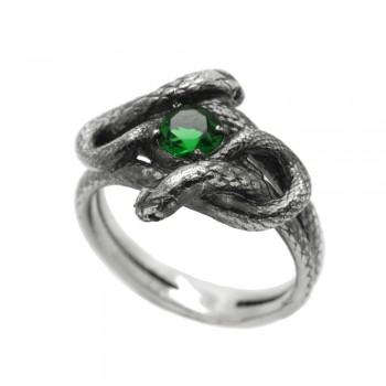 """Ring """"Snake knot"""""""