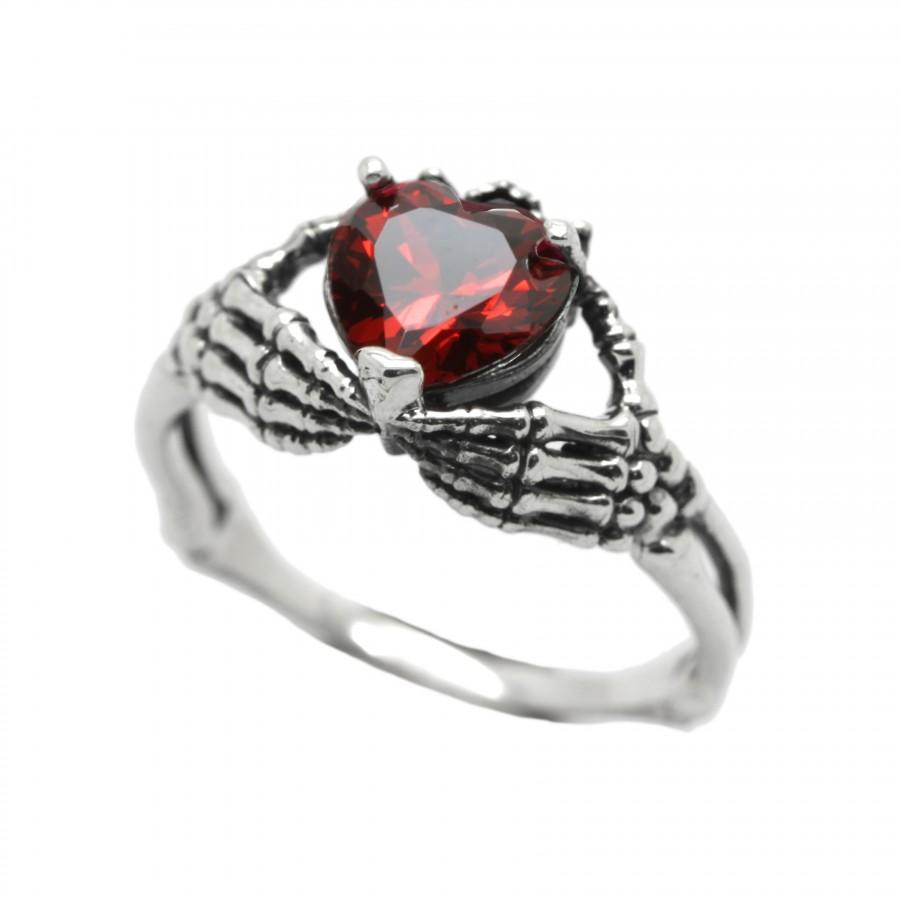 """Ring """"Black Heart"""""""