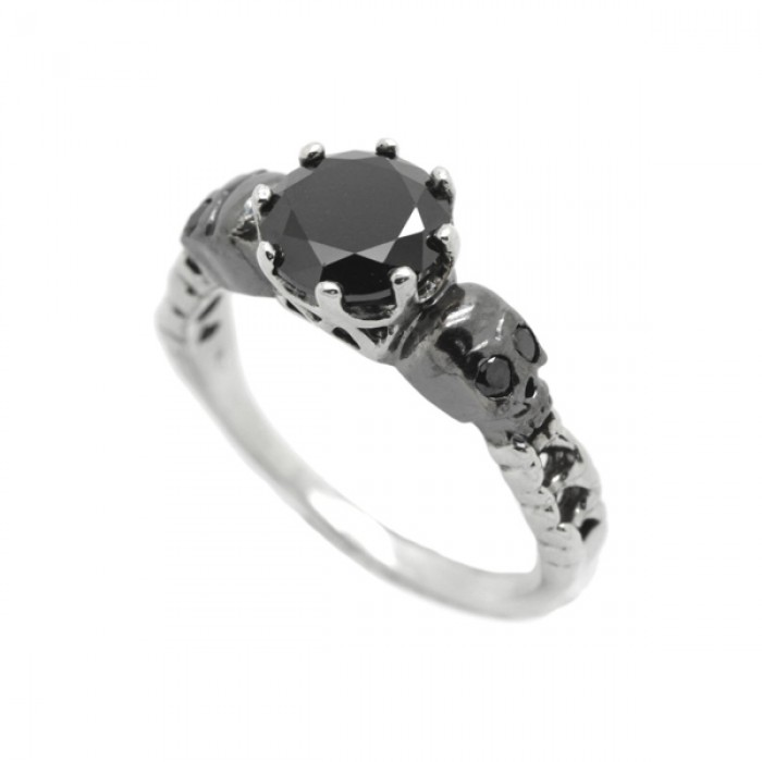 """Ring """"Gothic Skull"""""""