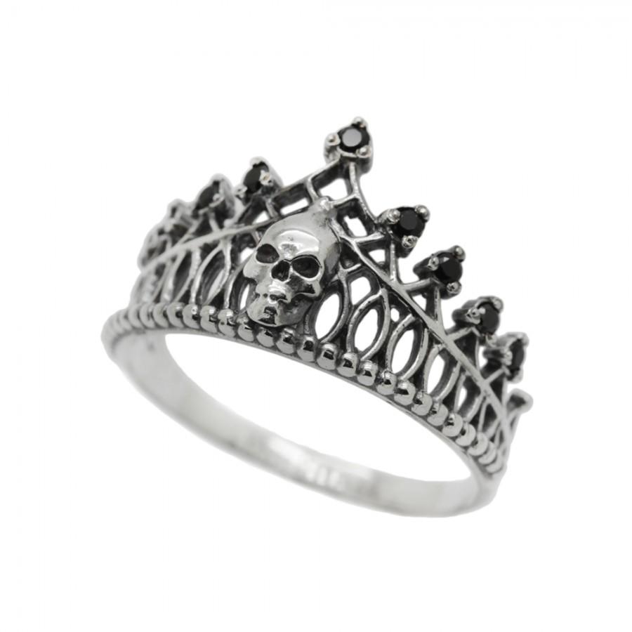 "Ring ""Crown Skull"""